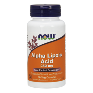 Alpha Lipoic Acid: 250 mg