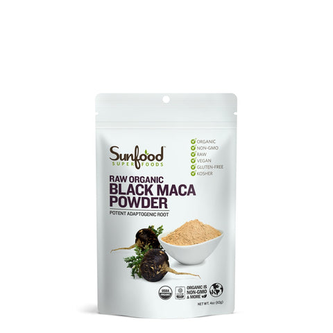 Raw Organic Black Maca