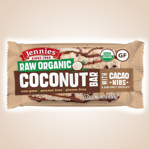Coconut Bar with Cacao Nibs