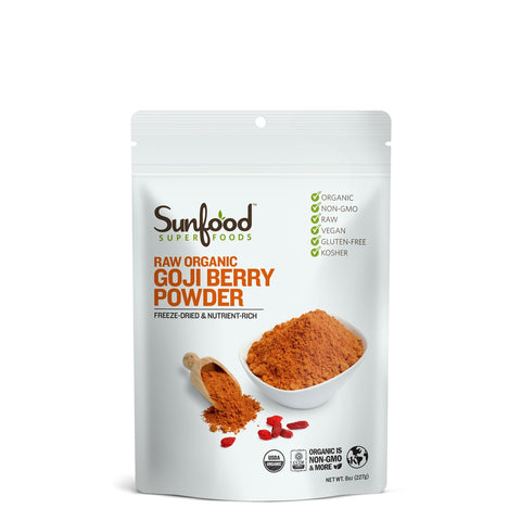 Raw Organic Goji Berry Powder
