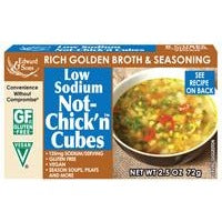 Low Sodium Not Chick'n Cubes