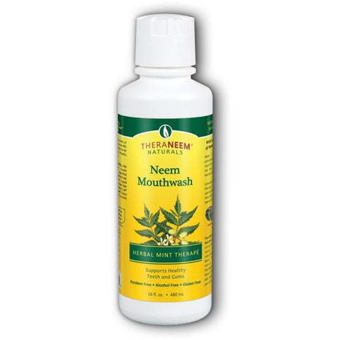 Neem Mouthwash (Herbal Mint)