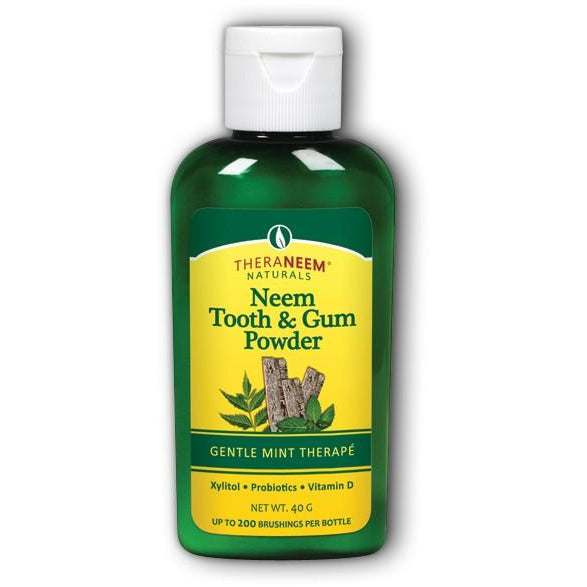 Neem Tooth & Gum Powder (Gentle Mint)
