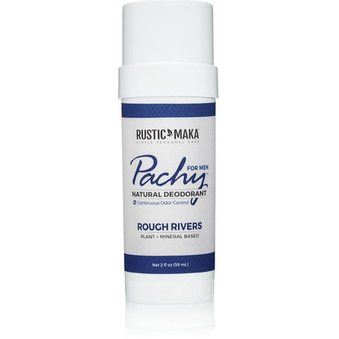 Pachy Rough Rivers For Men Plant & Mineral Based Deodarant