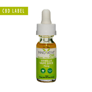75mg Vape Juice CBD