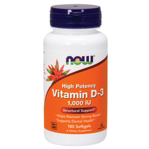 Vitamin D-3: Softgels
