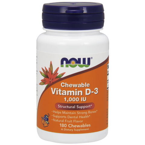 Vitamin D-3: Chewable