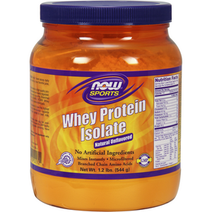 Whey Protein Isolate Natural Unflavored 1.2lb