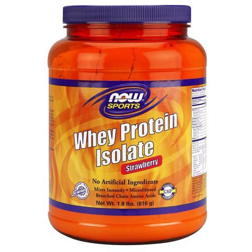 Whey Protein Isolate Strawberry 1.8lb