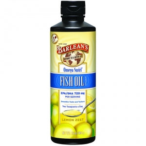 Barlean's Fish Oil Lemon Zest Swirl 16oz