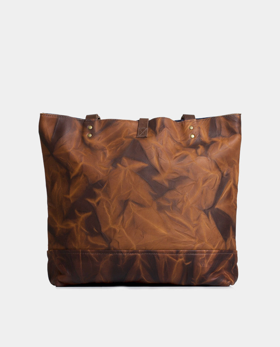 Totebag Mañío Leather Series Roca