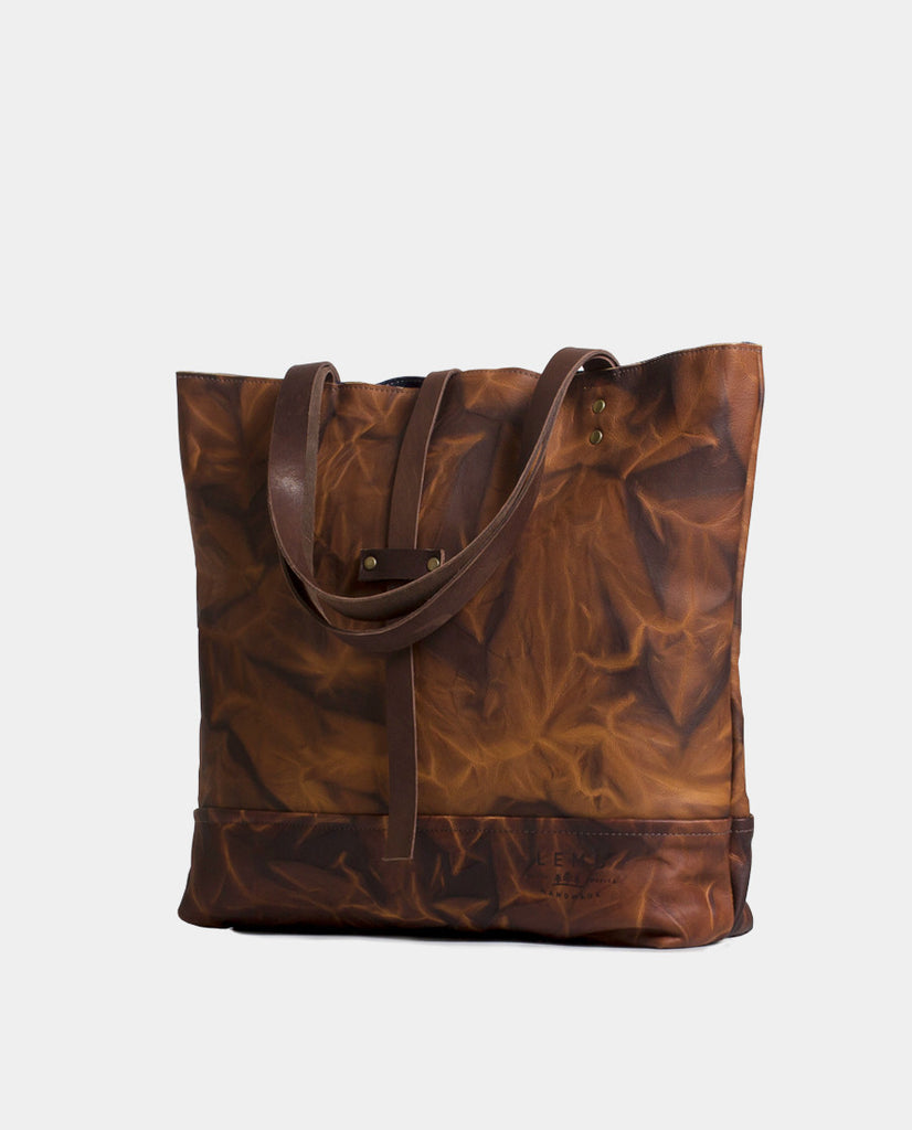 Totebag Mañío Leather Series Roca - Totebag - LEMU HANDMADE
