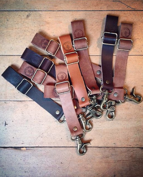 Llavero Strap Leather Series