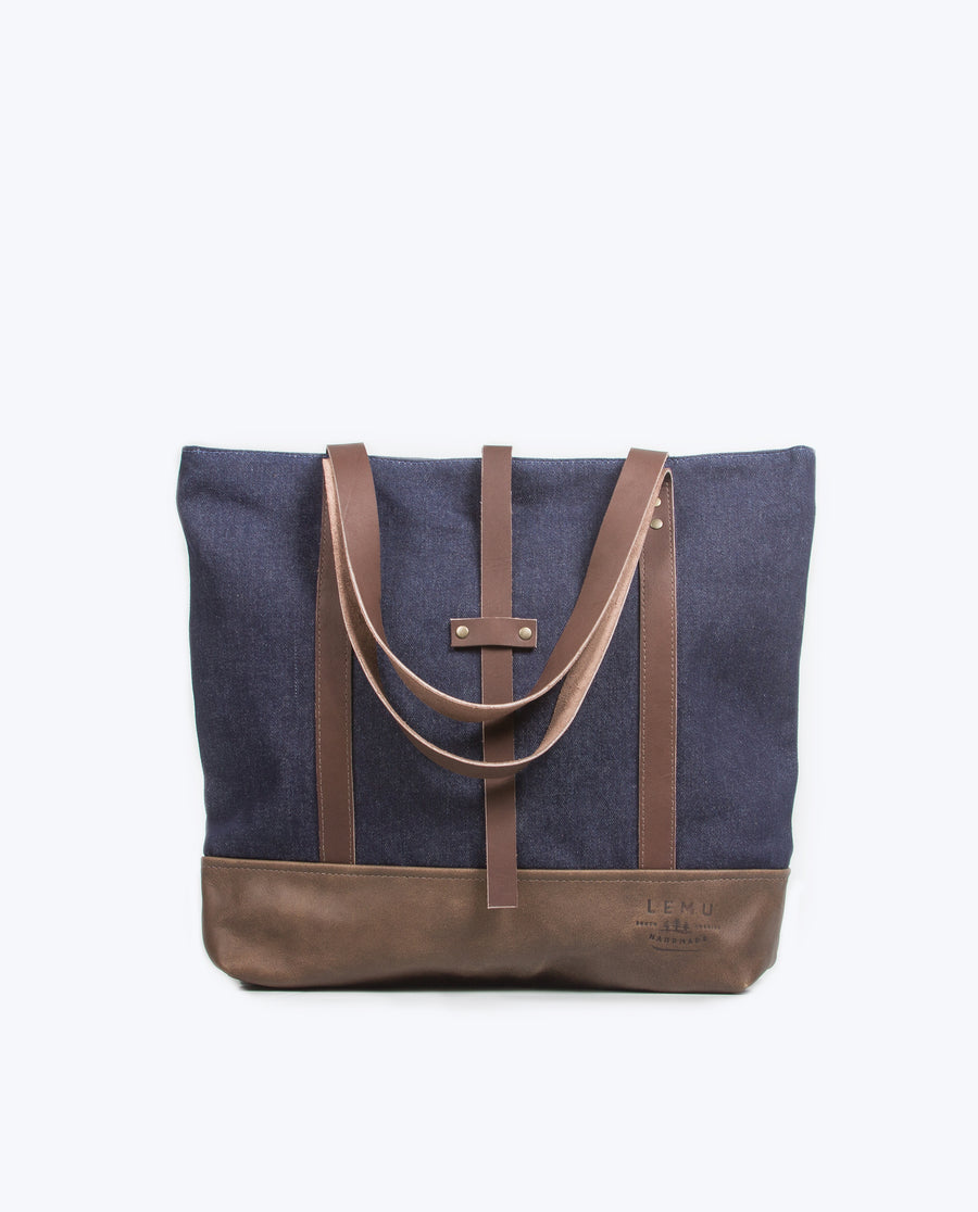 Totebag Ulmo Basic Series Denim Moro