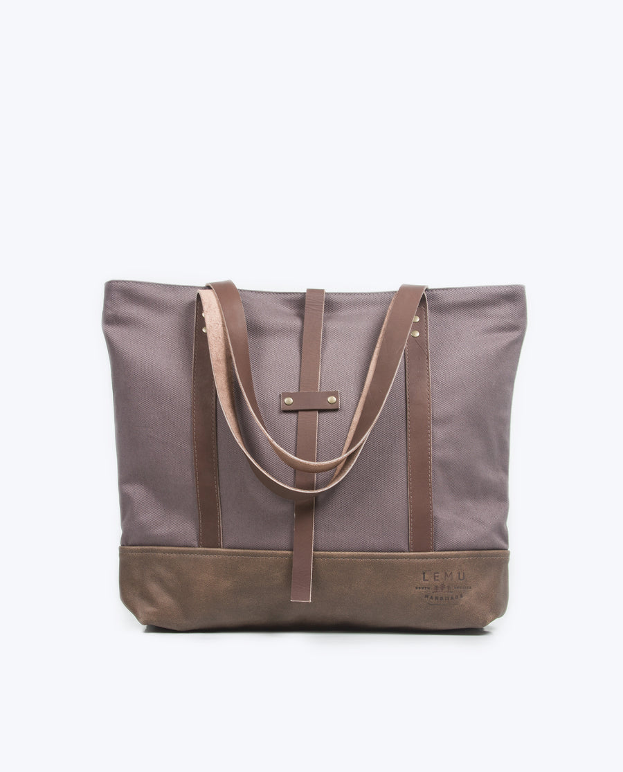 Totebag Ulmo Basic Series Gris Moro