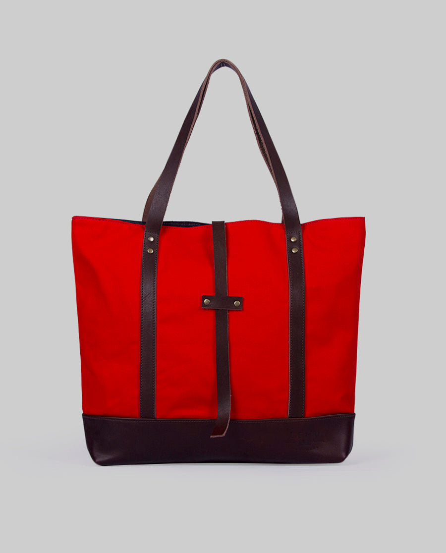 Totebag Ulmo Basic Series Rojo Moro