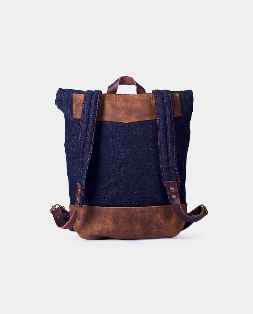 Rucksack Mahuida Mini Basic Series Denim Moro