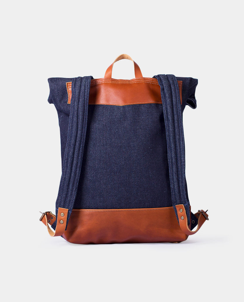 Rucksack Mahuida Basic Series Denim Caramelo