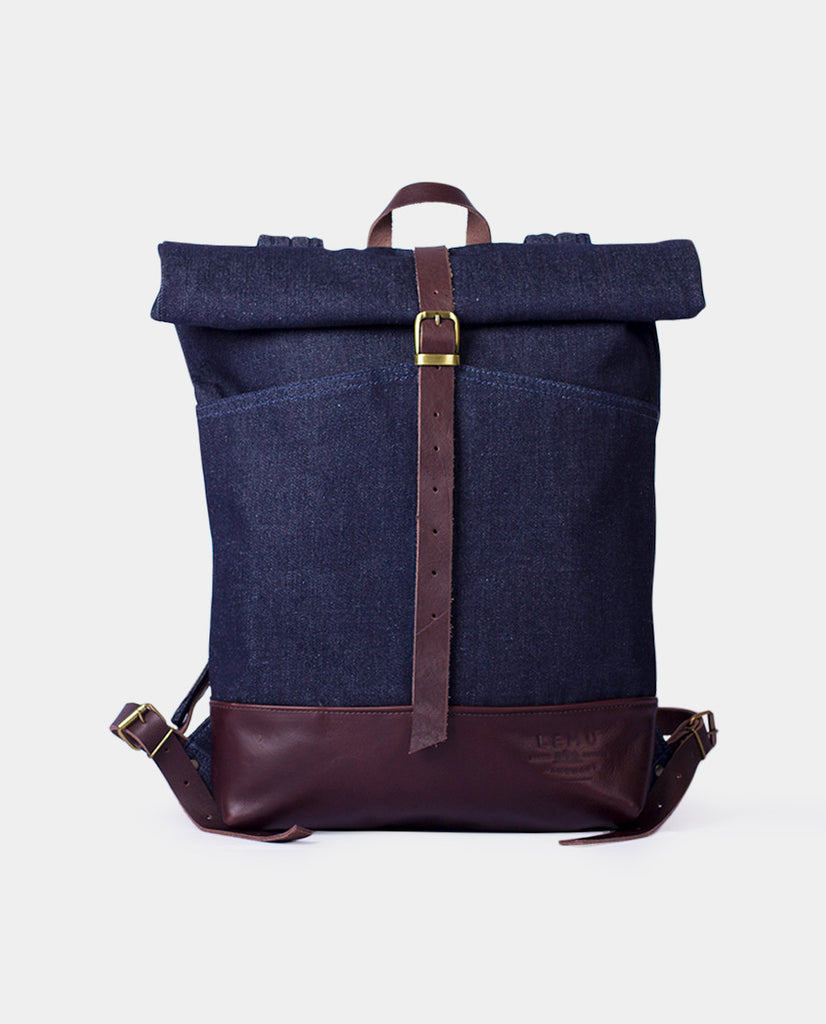 Rucksack Mahuida Basic Series Denim Moro