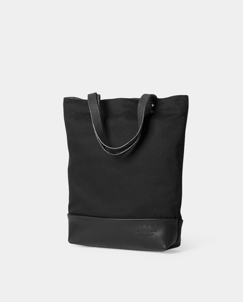 Totebag Notru Basic Series Black Black