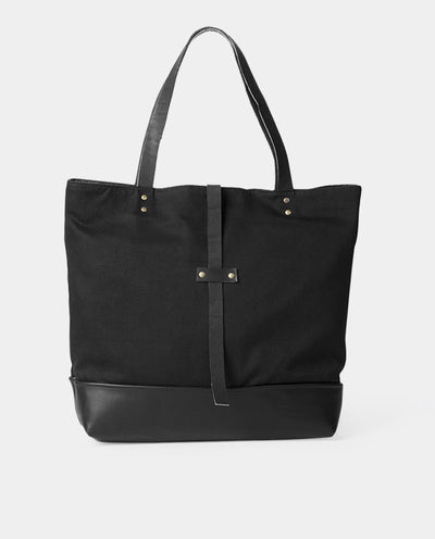 Totebag Mañío Basic Series Black Black