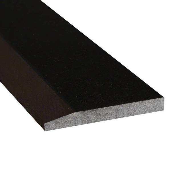 Black Single Bevel Granite Saddles and Door Thresholds Polished