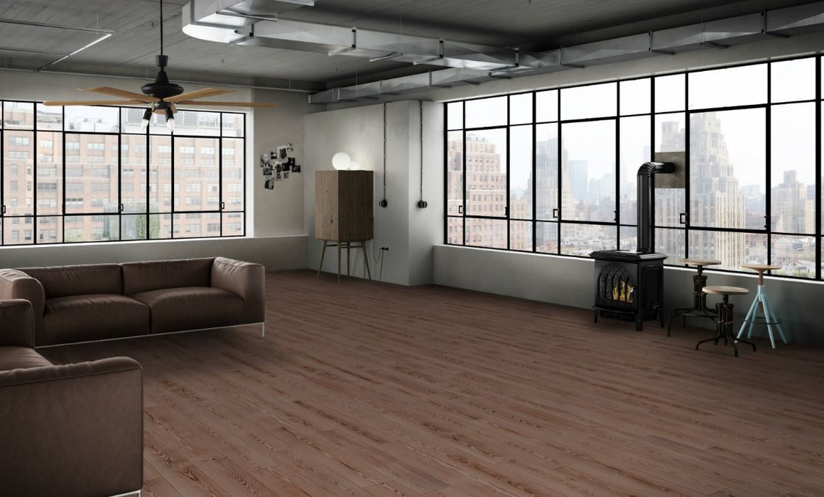"Manhattan Natural 8""x48"" Wood Look Porcelain Tile"