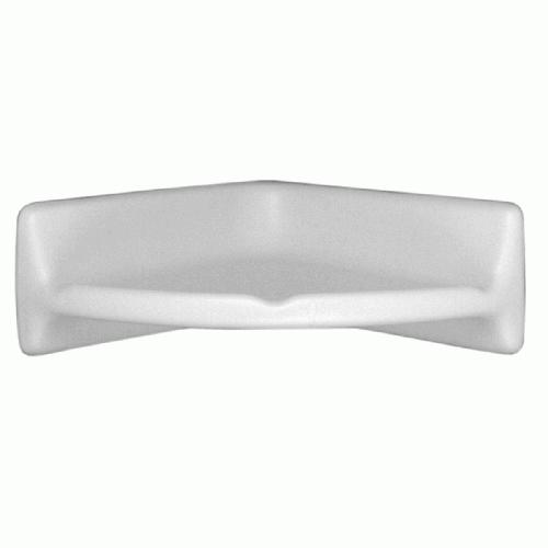 Large Corner Shelf BA780 Arctic White