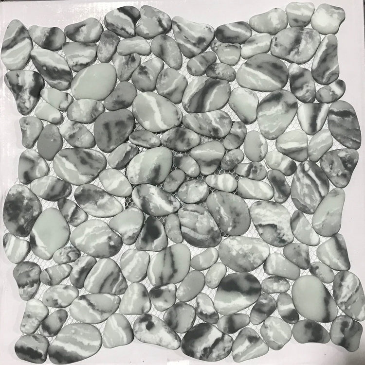 Micro Crystal Pebbles Grey
