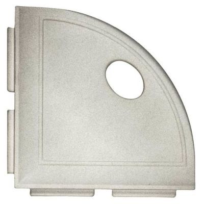 Daltile Decorative Corner Shelf CN13 Gray