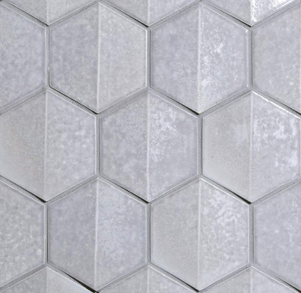 "Mosaic Shinju Crest Hex 4"" Moonstone"