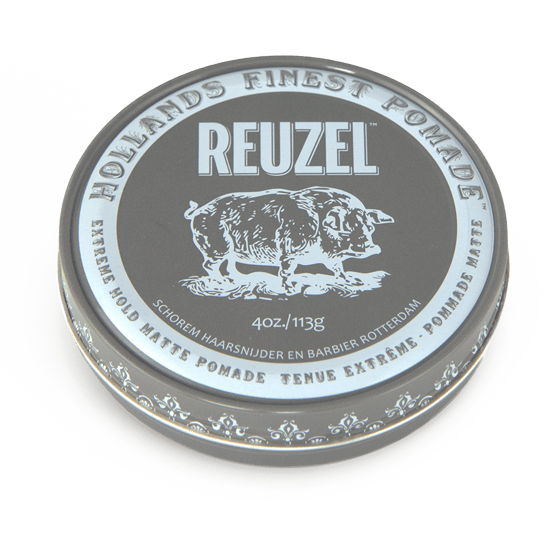 REUZEL EXTREME HOLD • NO SHINE • WATER SOLUBLE