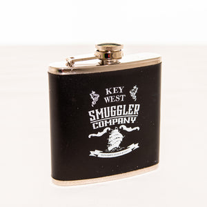 Leather Encased Stainless Steel Flask