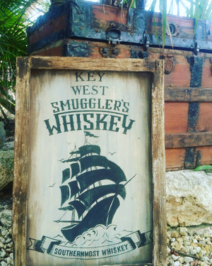 Key West Smuggler Sign - Bar Sign 1