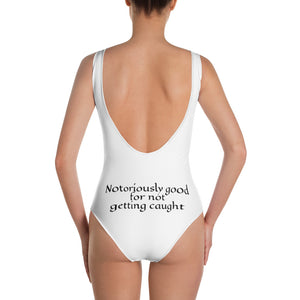 One-Piece Smuggler Swimsuit