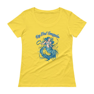 Women's Scoopneck T-Shirt - Mermaid Collection