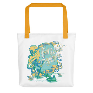 Key West Smuggler Tote - Octopus Collection