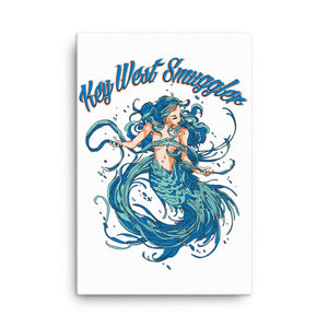 Key West Mermaid Canvas