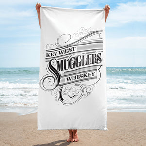 Key West Smuggler Towel - Scroll Collection