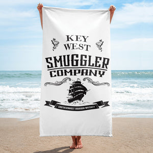 Key West Smuggler Towel - Logo Collection