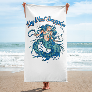 Key West Smuggler Towel - Mermaid Collection