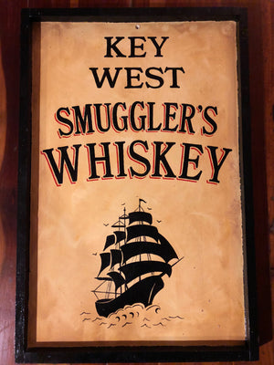 Key West Smuggler Sign - Bar Sign 2