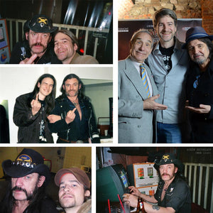 Photos of Lemmy from Motorhead at various states of his career