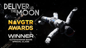 Deliver Us The Moon Wins NAVGTR Award!
