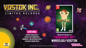 Vostok Inc. Physical release out now! You'd Jabba believe it!