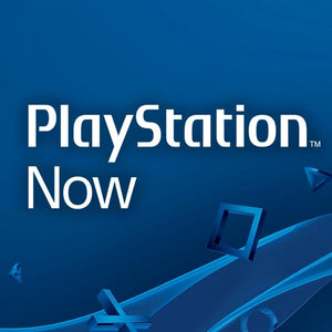 PlayStation Now Logo with blue background