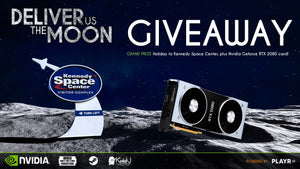 WIN a holiday to NASA and an NVIDIA GeForce RTX™ card!