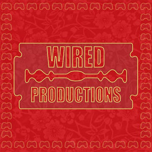 Chinese themed version of the Wired Productions logo to celebrate the year of the pig! It's red with golden surrounds!