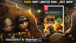 Tiny Troopers Limited Run Lands in Wallmart!