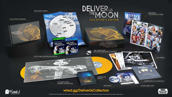 Deliver Us The moon Collectors Edition